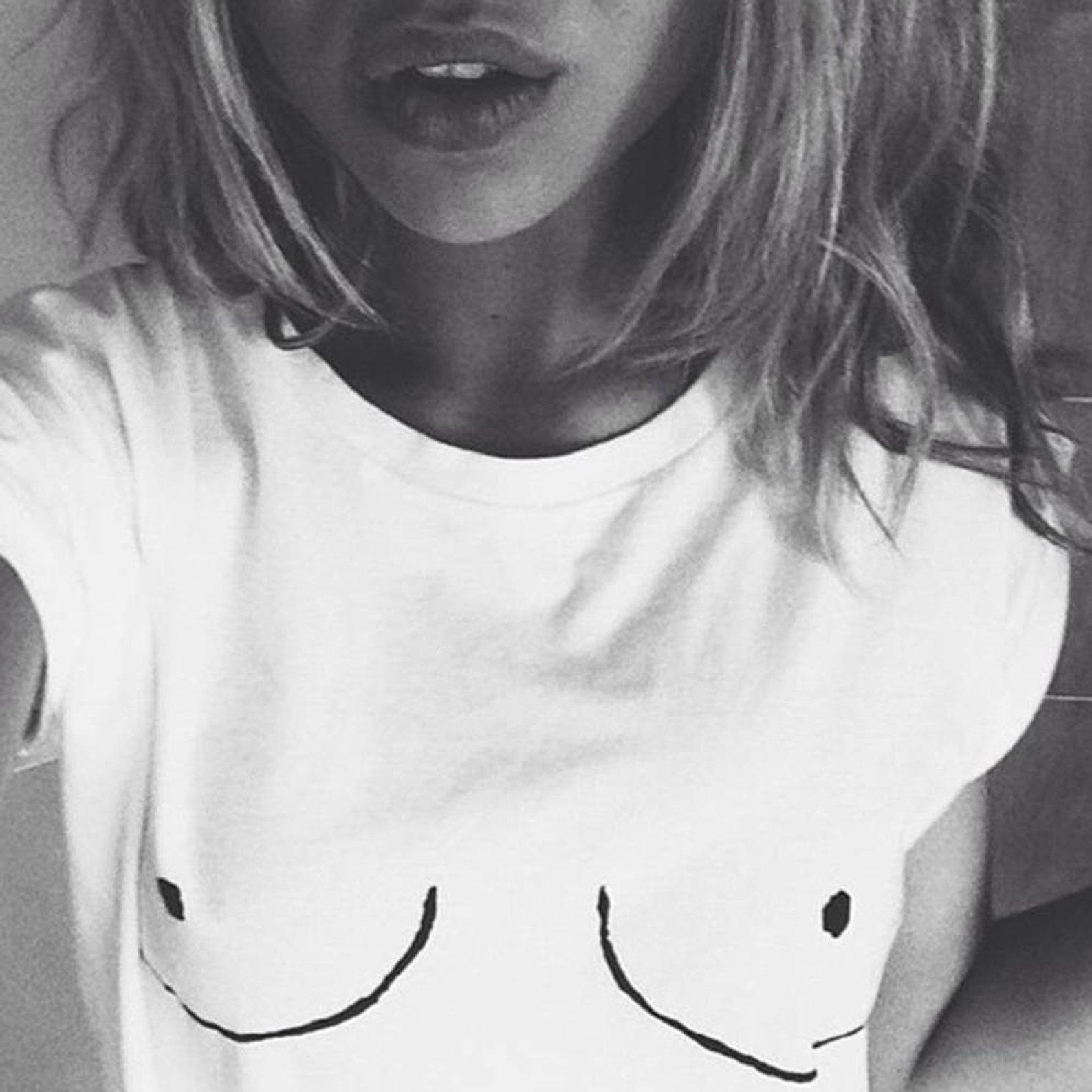 Boob Shirt By Sterling Print Shop