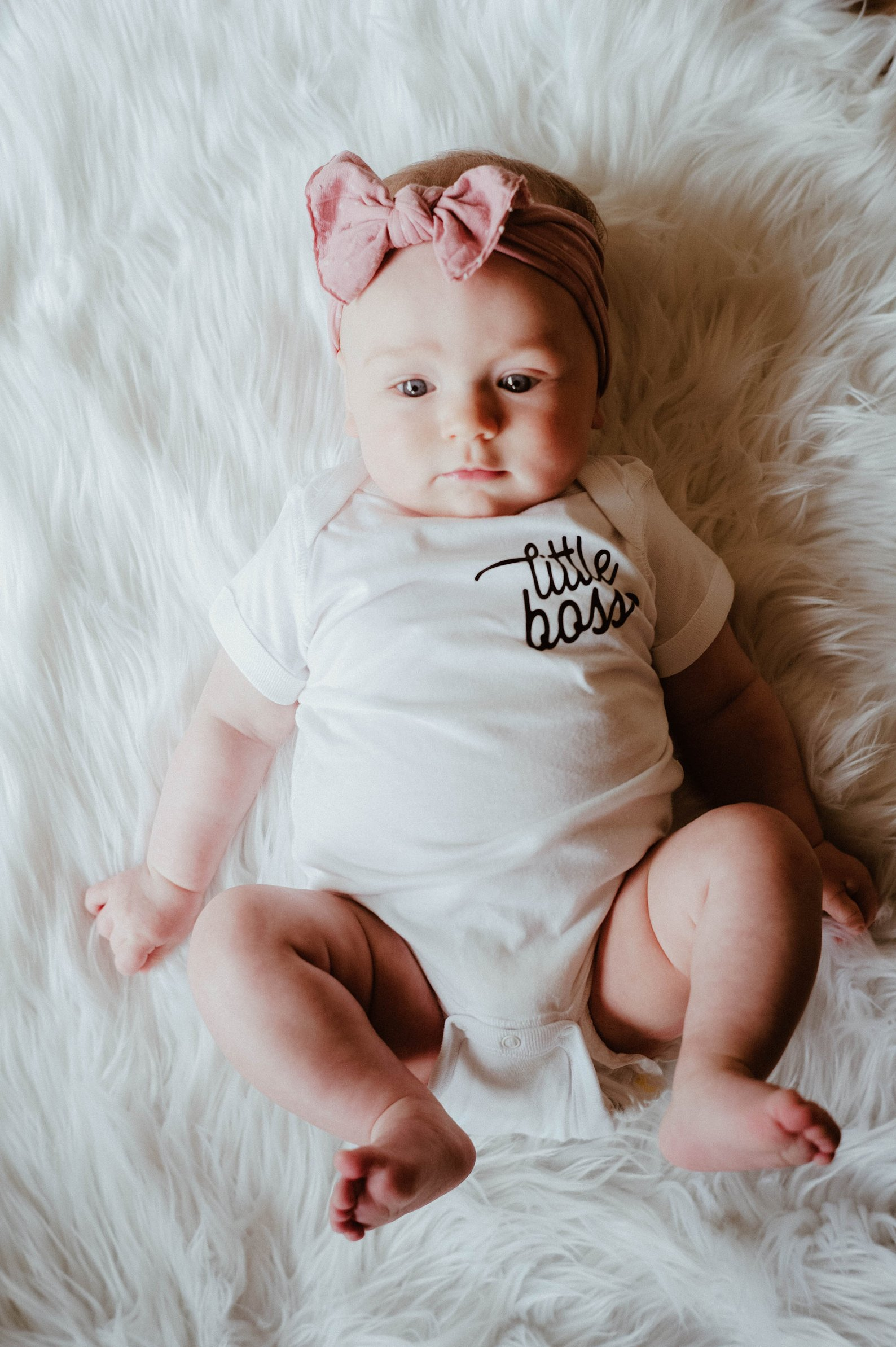 Little Boss Baby Onesie By Keep Life Simple Design