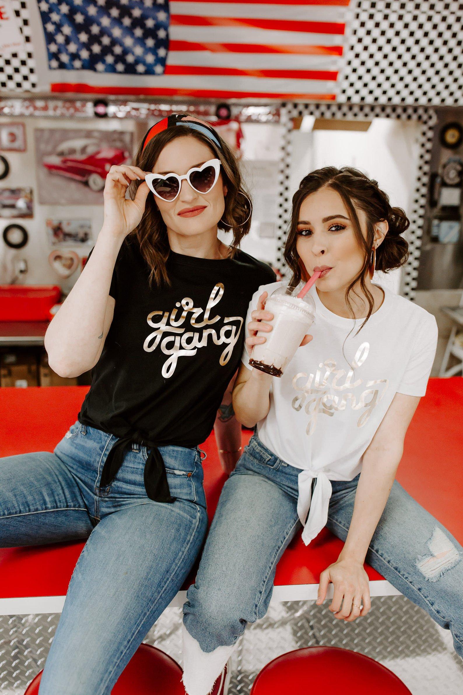 Girl Gang Shirts By Keep Life Simple Design