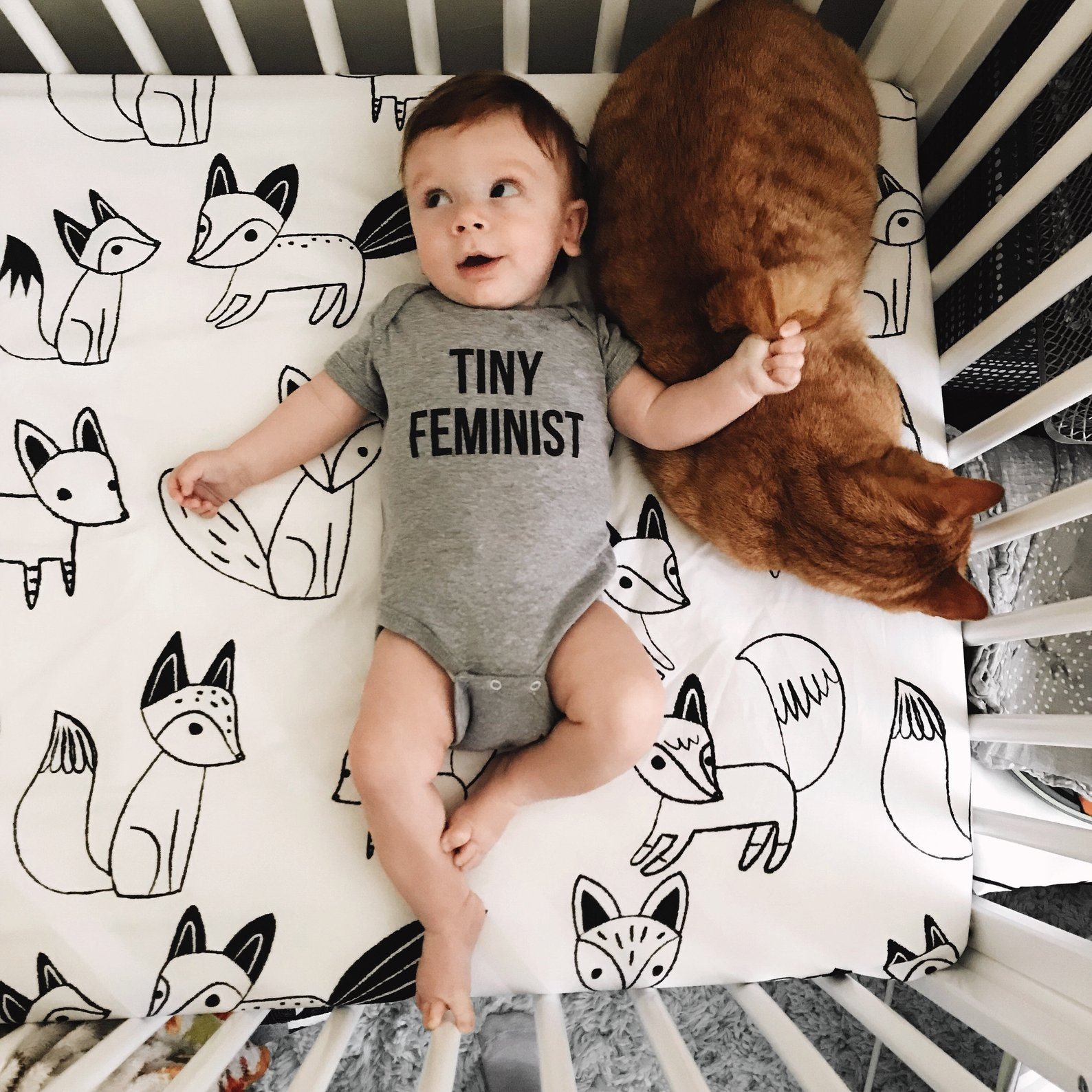 Feminist Baby Clothes By Sad Shop