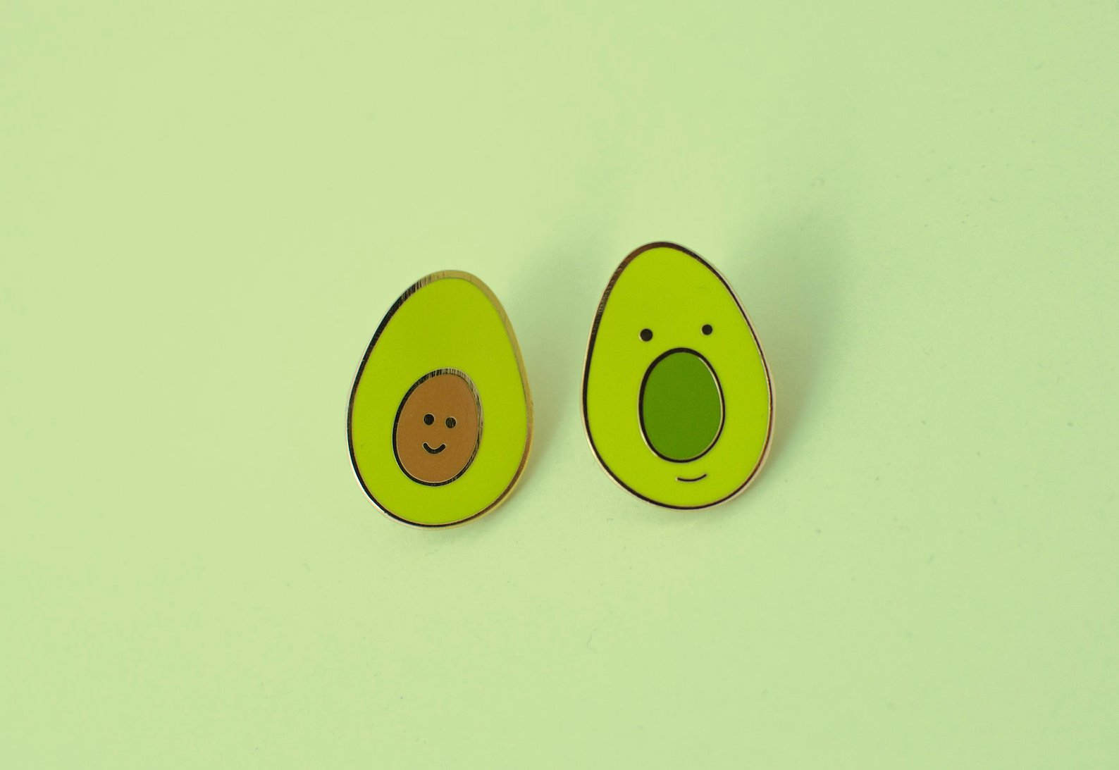 Avocado Enamel Pin By Itscathywu