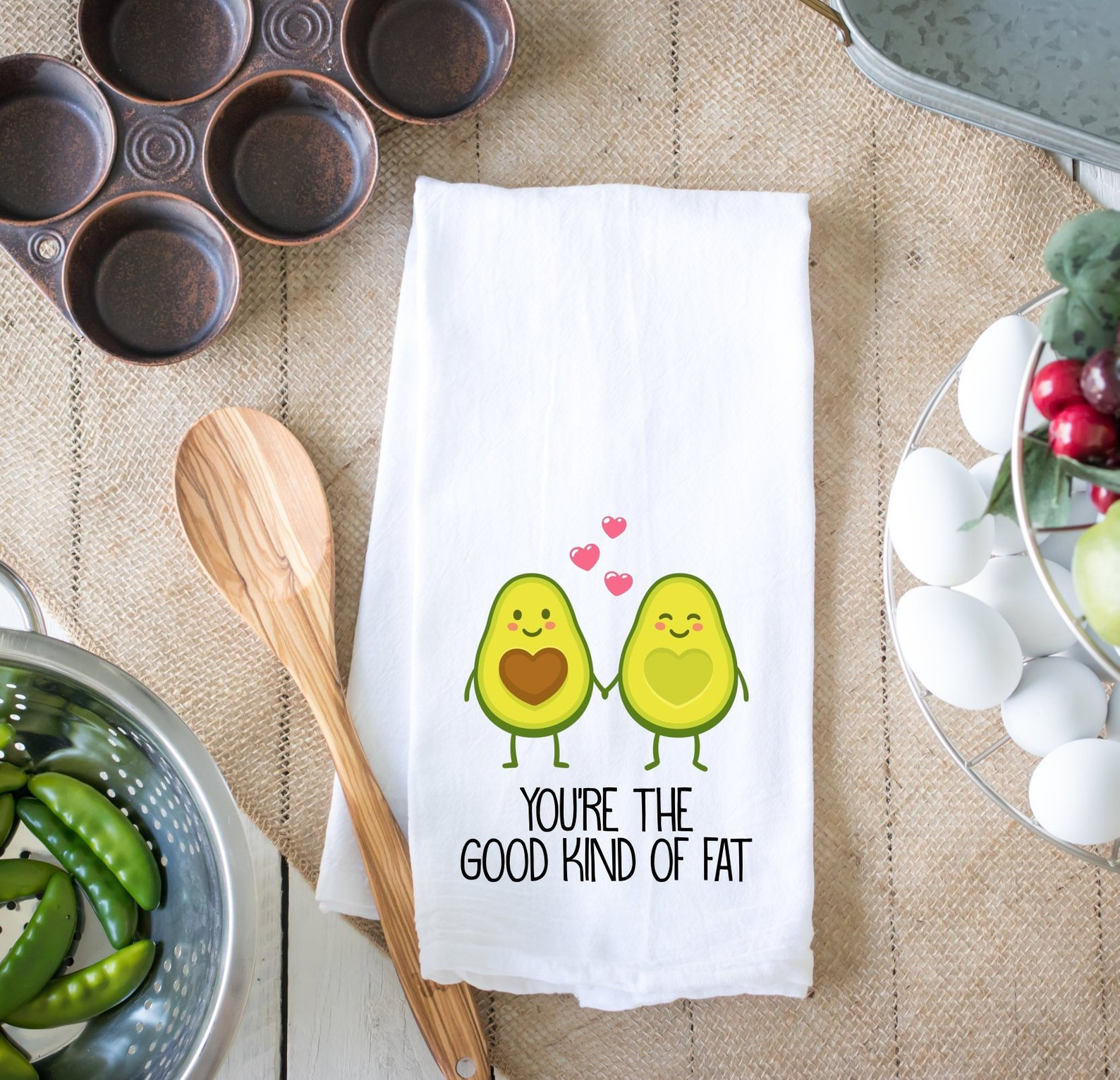 You're the Good Kind of Fat Towel By Cotton Confetti Shop