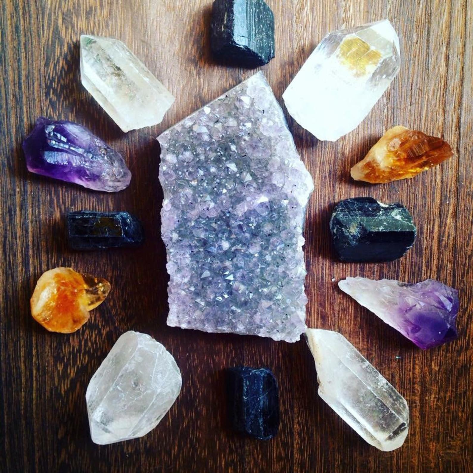 Raw Crystal Healing Crystals and Stones Collection By Crystals N Creations