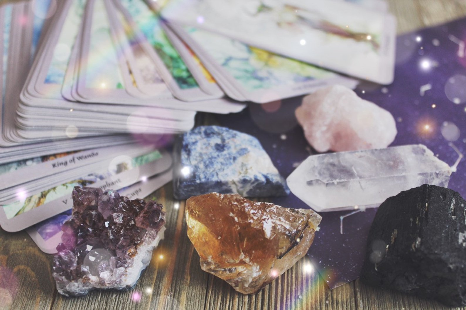 Tarot Crystals By Crystals N Creations