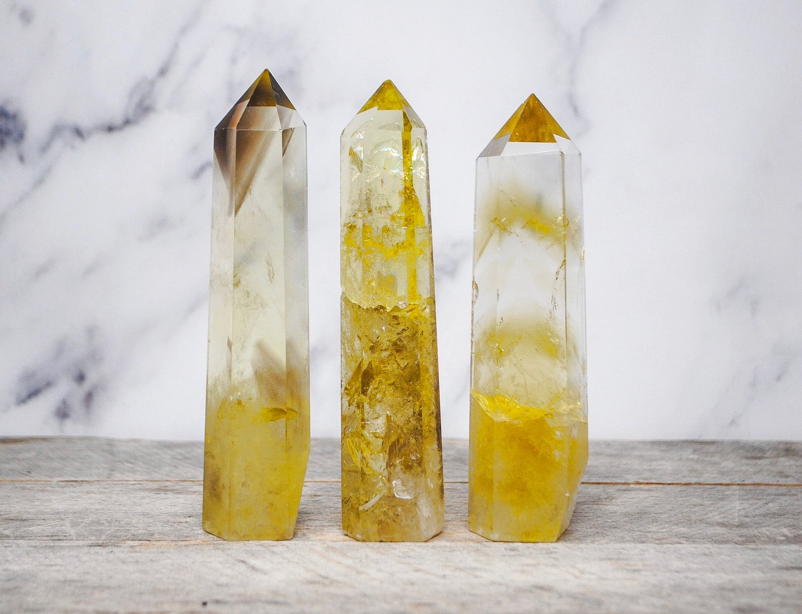 Citrine Crystal Quartz Tower By Auramore