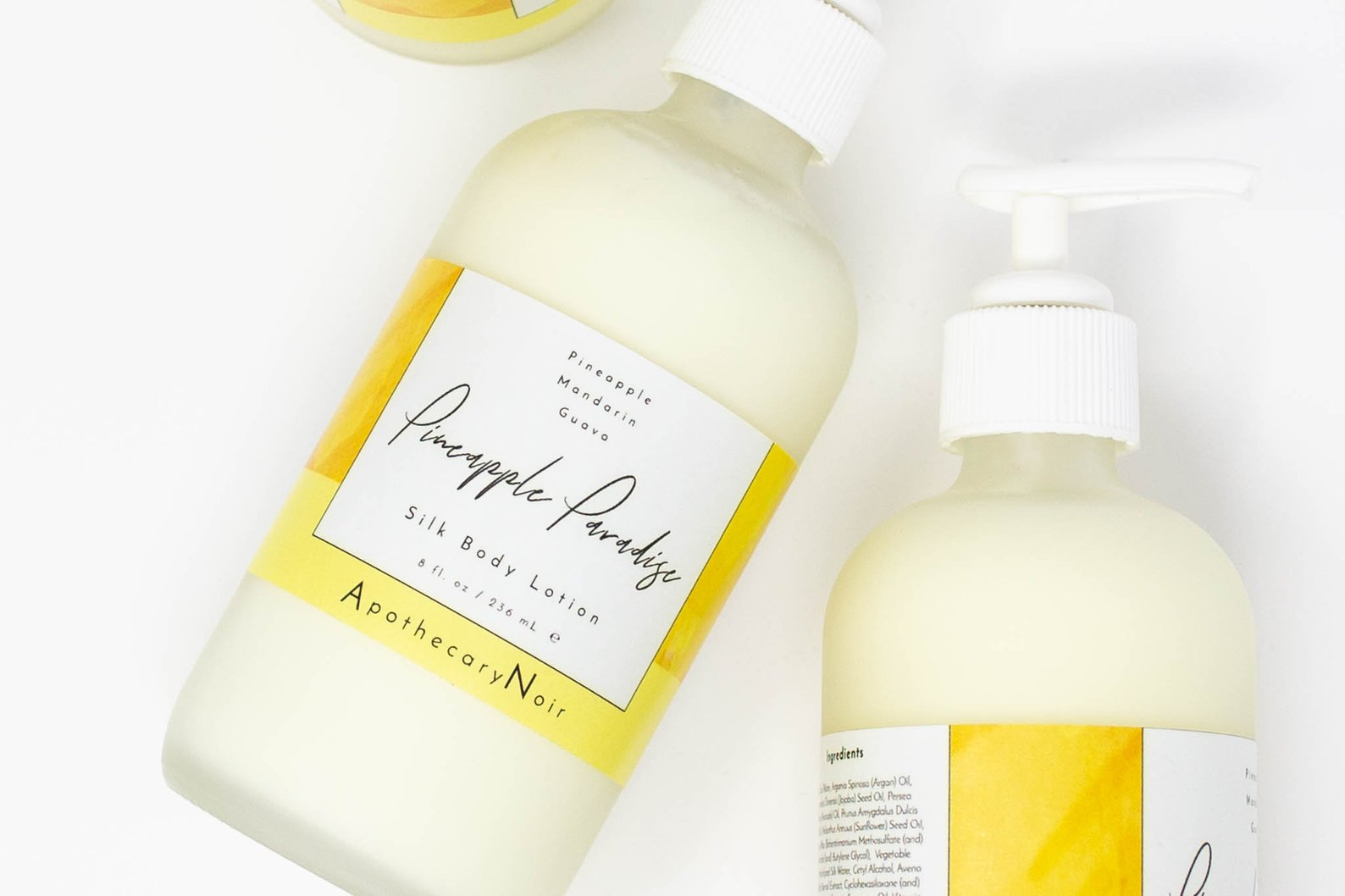 Pineapple Paradise Silk Lotion By Apothecary Noir