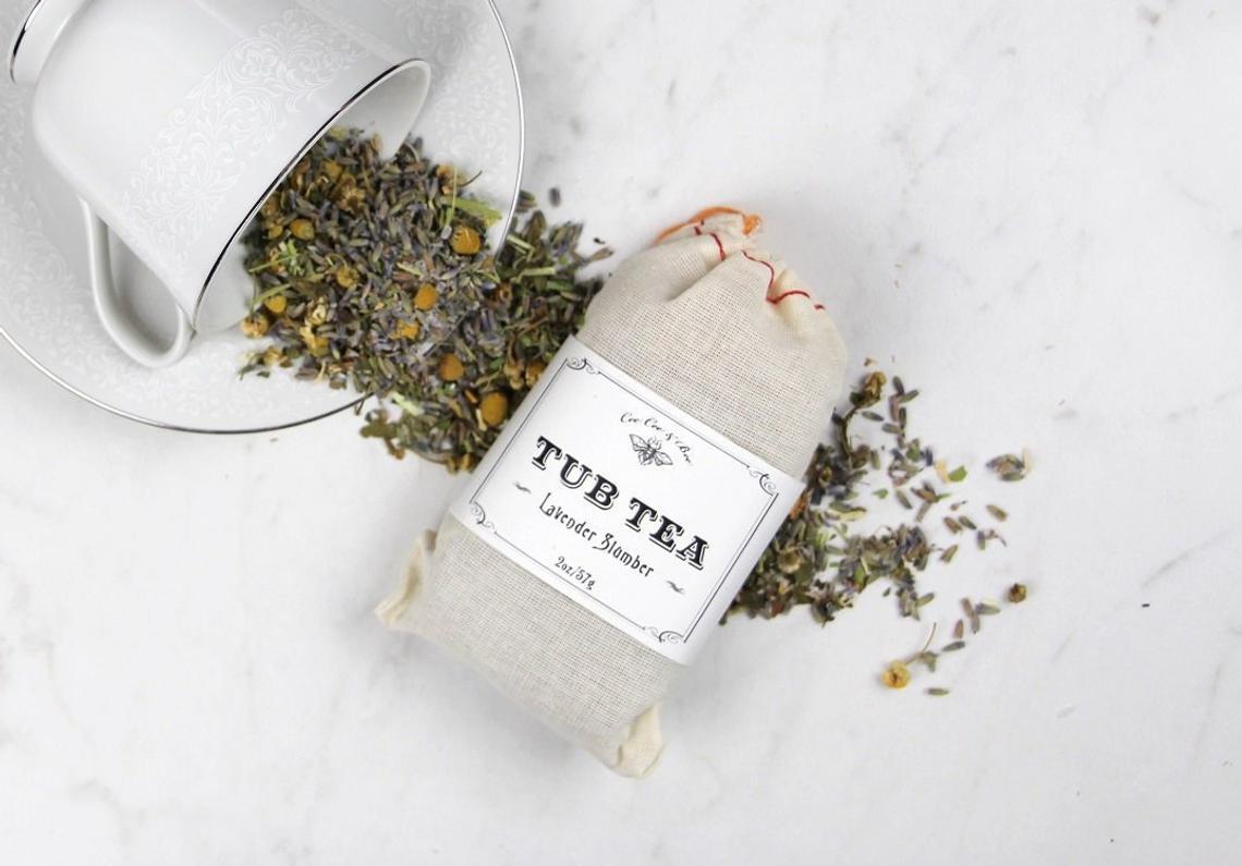 Lavender Slumber Tub Tea by CeeCee & Bee