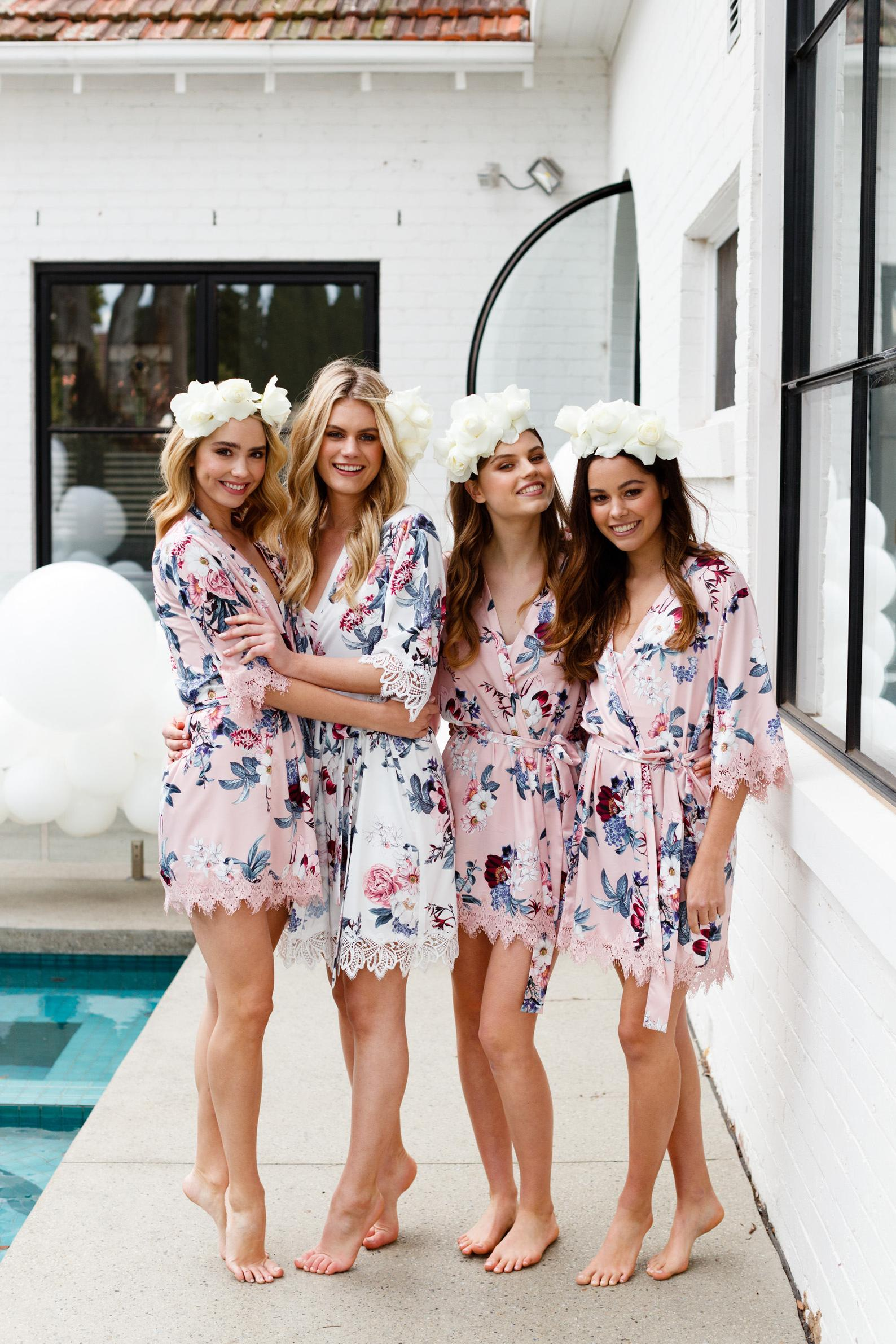Bridesmaid Robes By Le Rose Gifts