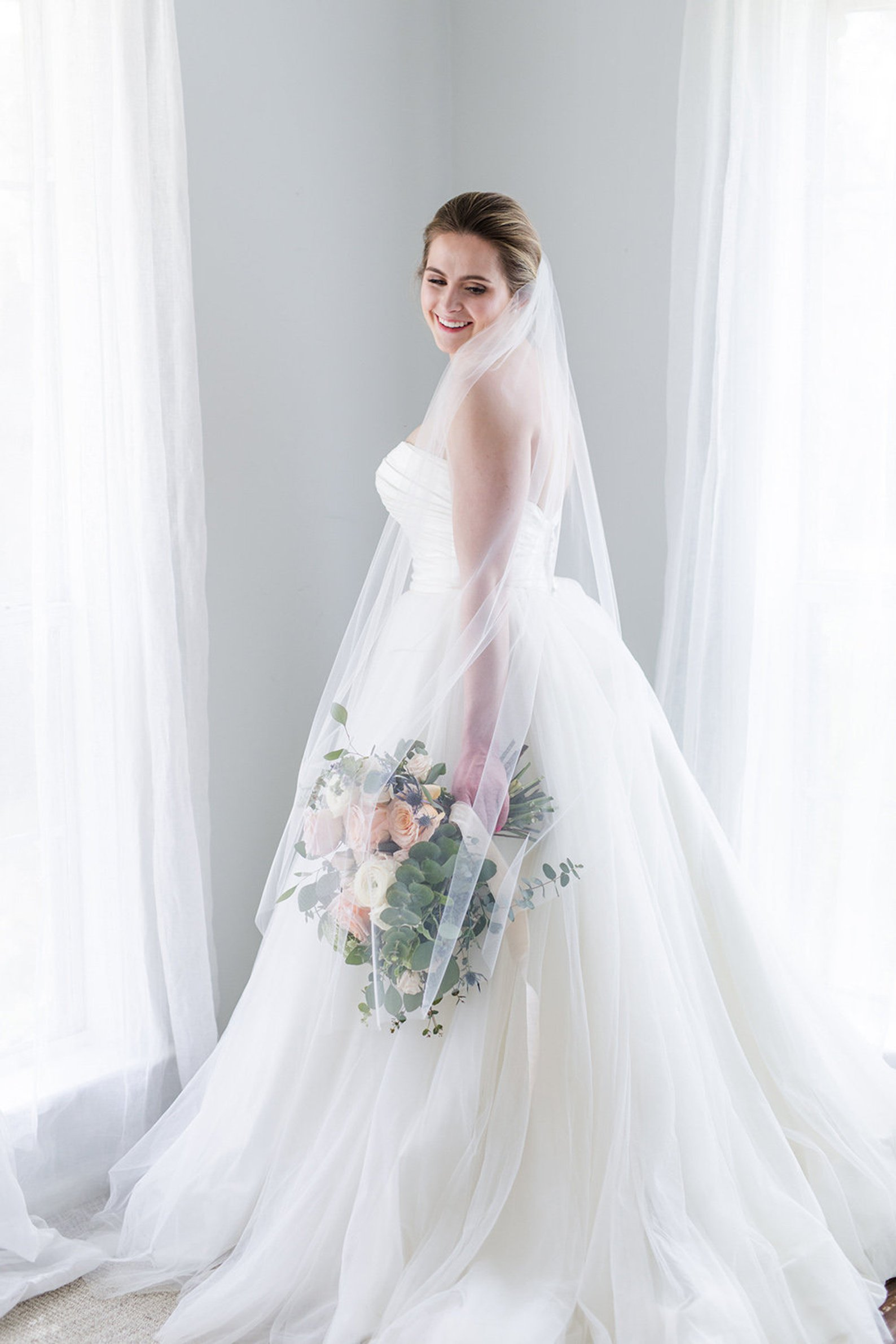 Airy Ballet Veil By Petal and Veil