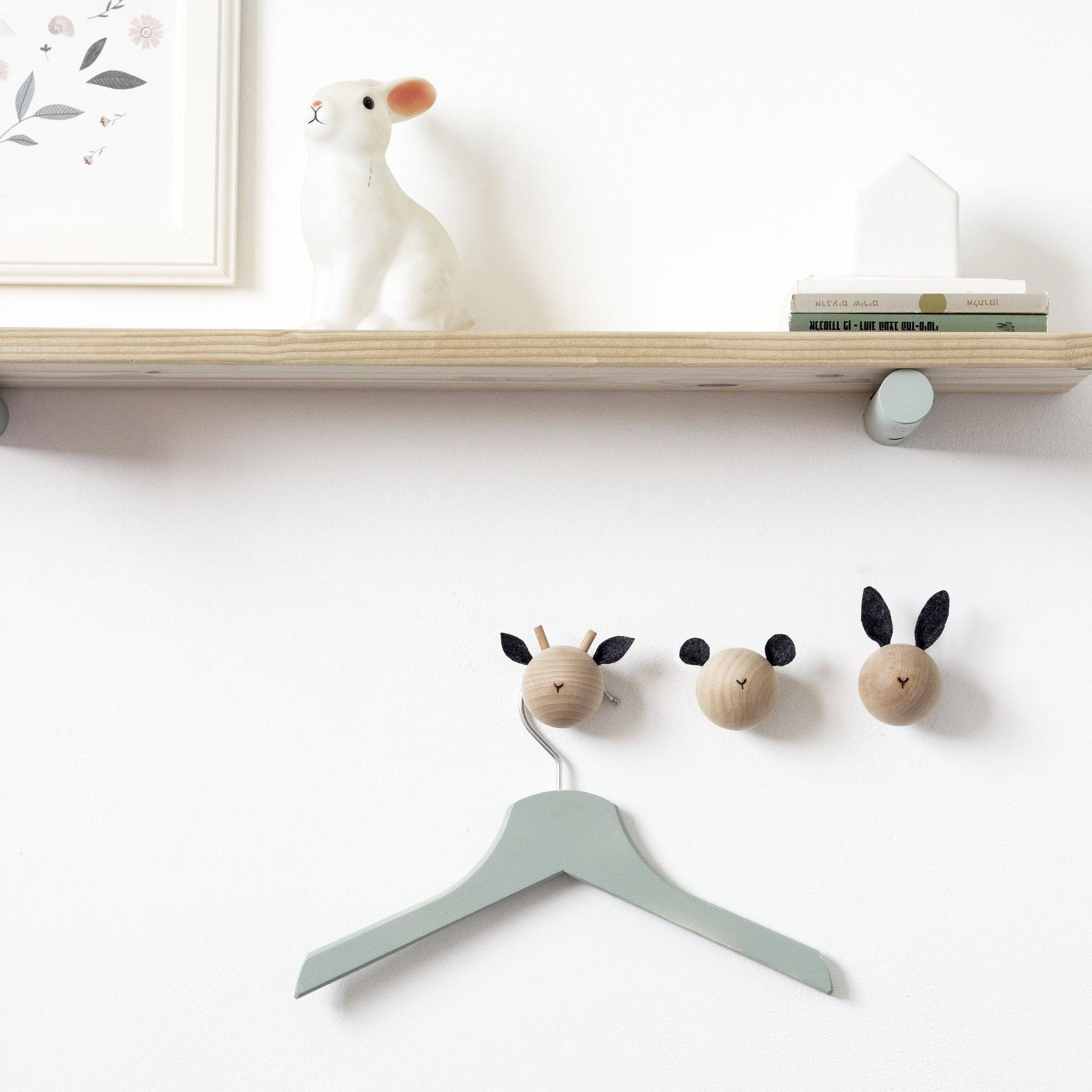 Animal Wall Hooks By Loop Design Studios