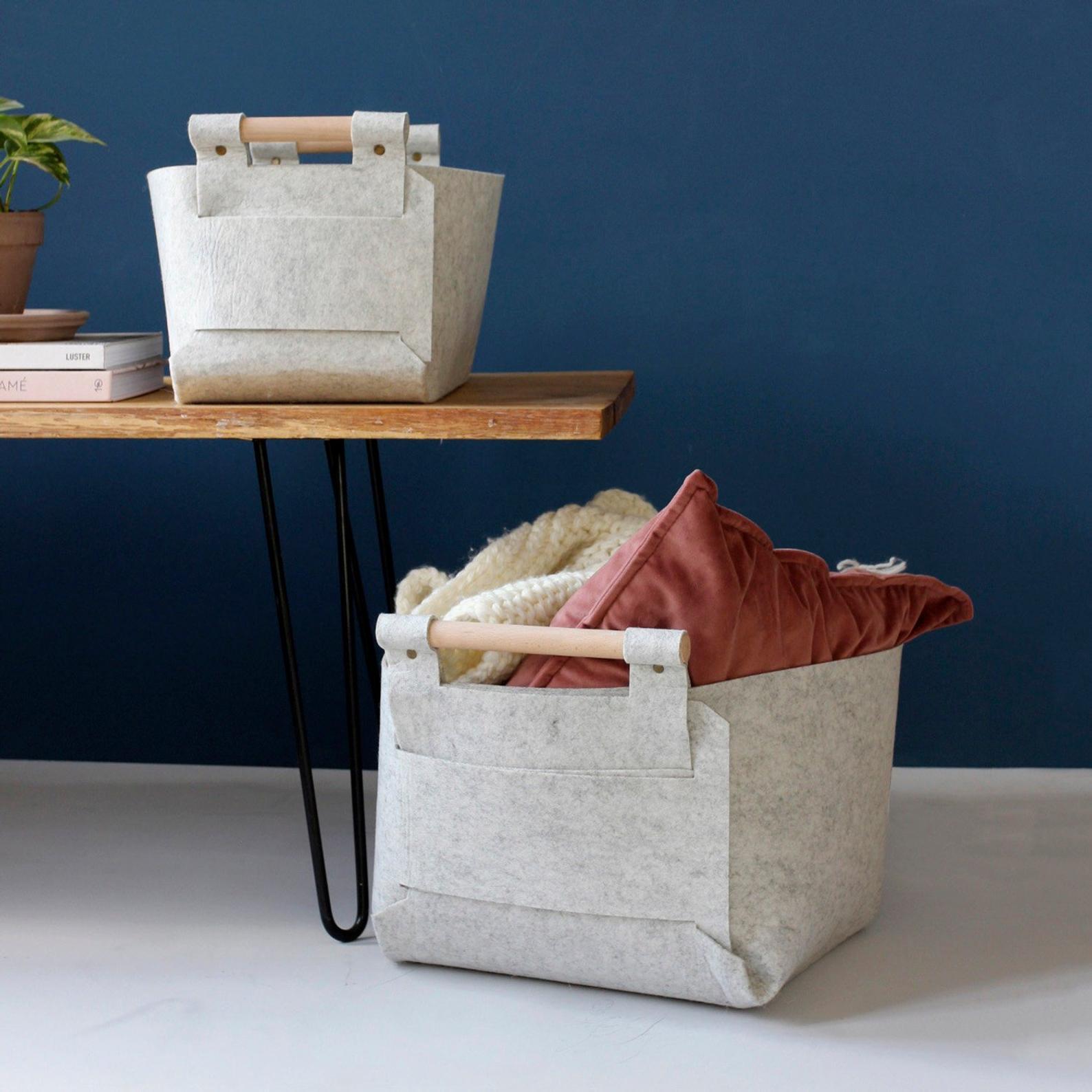 Storage Baskets By Loop Design Studios