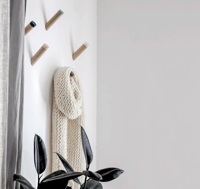 Modern Wall Hooks By Loop Design Studio