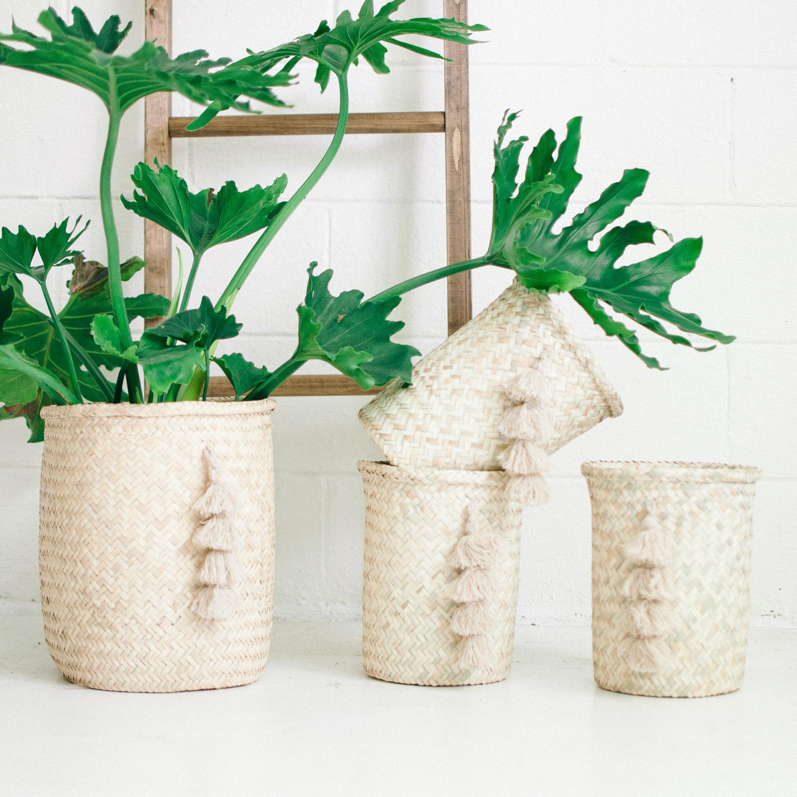 Tassel Basket By Xinhand Co Goods