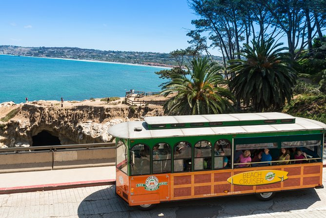 La Jolla & San Diego Beaches Tour - The tour will depart from Old Town and head to Mount Soledad followed by four conveniently located stops where you can disembark and explore in depth.Have the chance to visit historic sites in Old Town, and bring along your beachwear to enjoy the coast. See the natural treasures of this beachy city at Mount Soledad, which offers 360-degree views over San Diego.