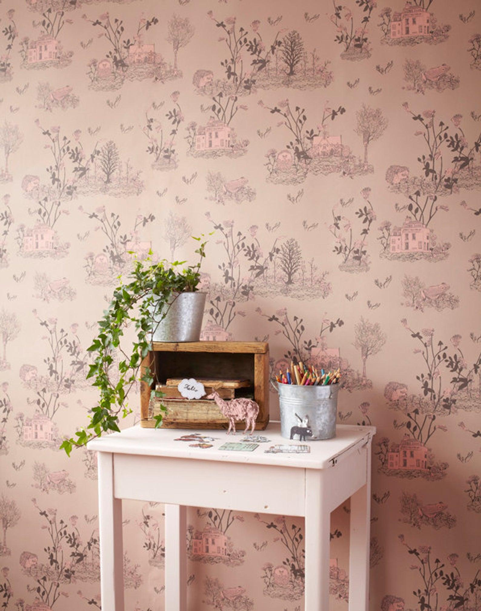 Woodlands Wallpaper By Sian Zeng