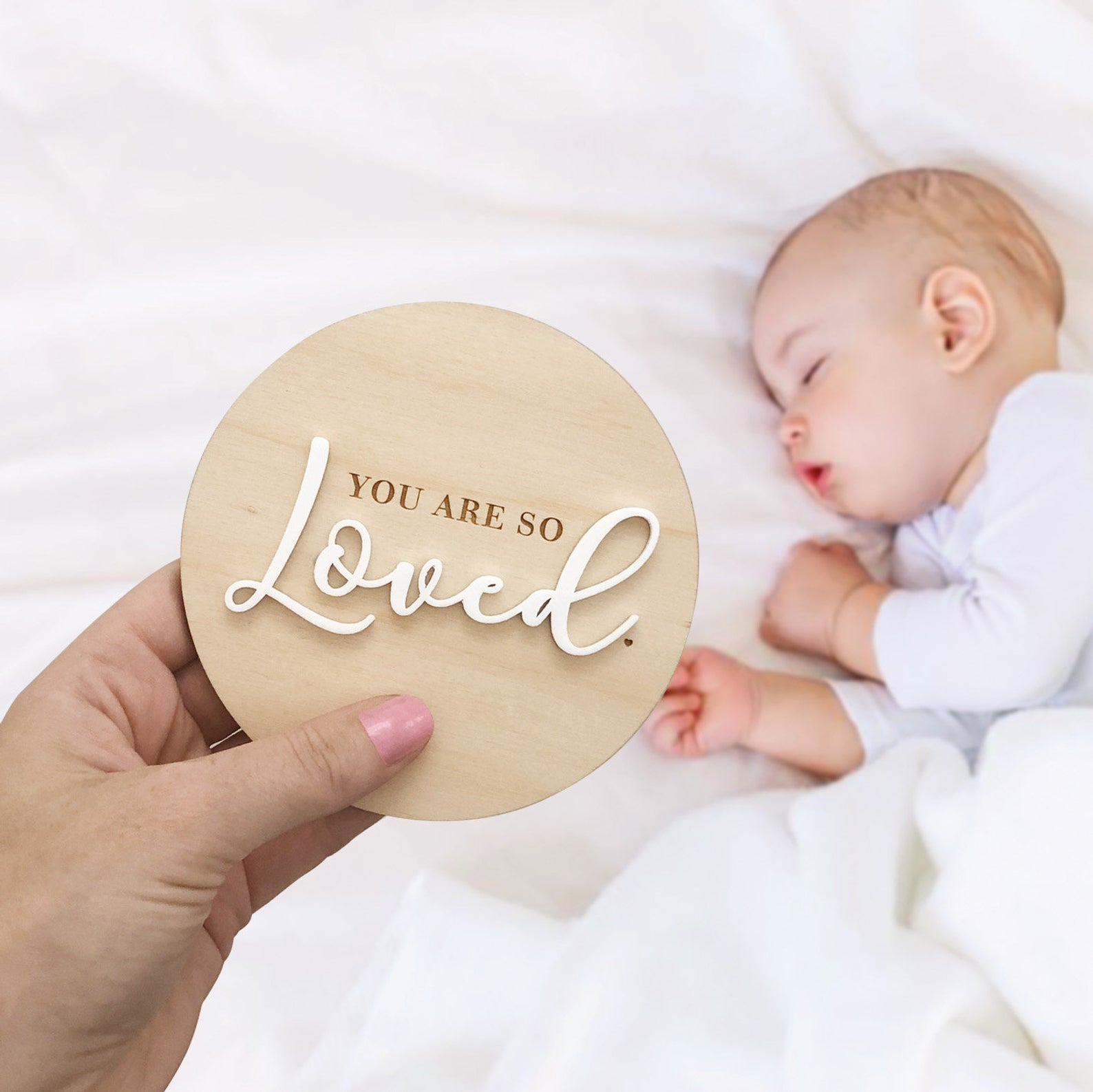 You Are So Loved Plaque By Nest Accessories