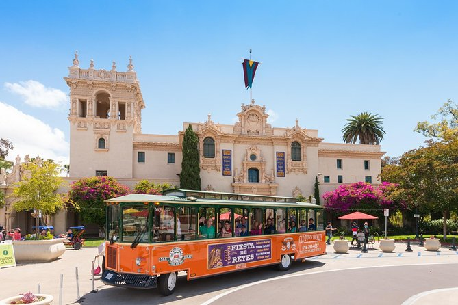 San Diego Tour: Hop-on Hop-off Trolley - Explore some of the top highlights of San Diego with this one- or two-day pass for the city's Hop-on, Hop-off Trolley Tour. Choose your own adventure as you get on and off the trolley at any of the 10 included stops, covering famous sights including the Gaslamp Quarter, the San Diego Zoo, Little Italy, and many more.