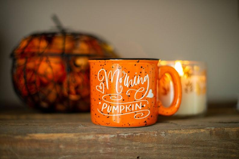 Morning Pumpkin Campfire Mug By Shop Pretty Phoxie