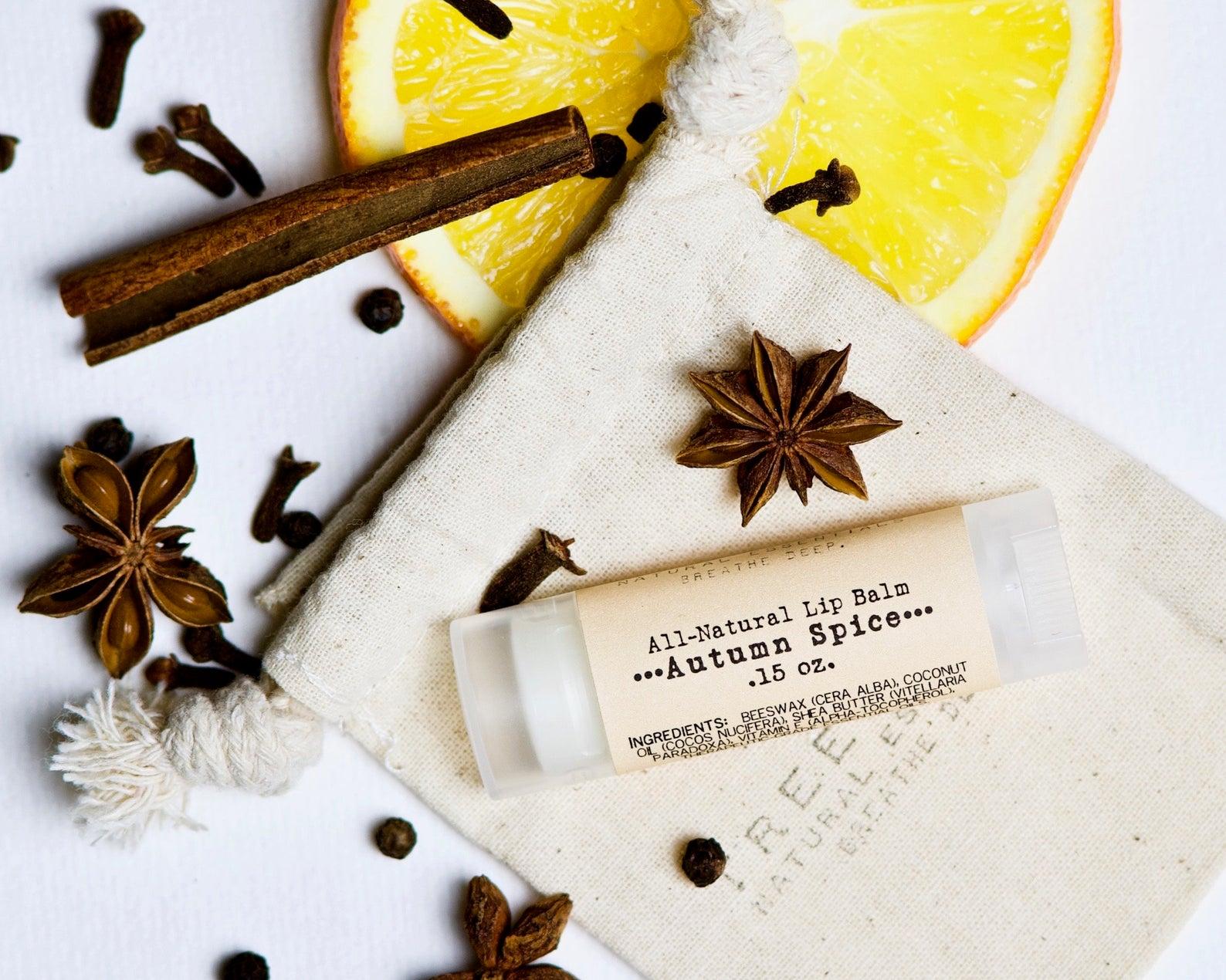 Autumn Spice Organic Lip Balm By Tree Snail