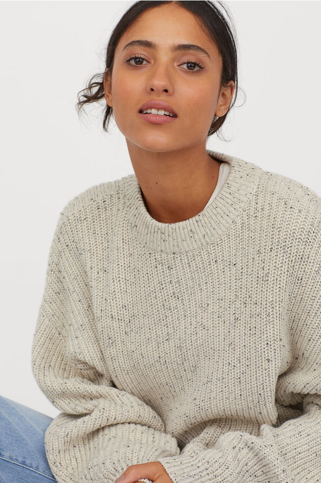 Chunky-knit Sweater By H&M