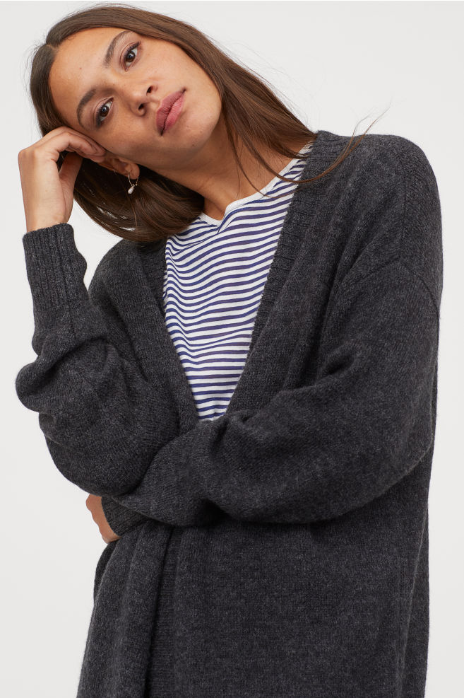 Cardigan without Buttons By H&M