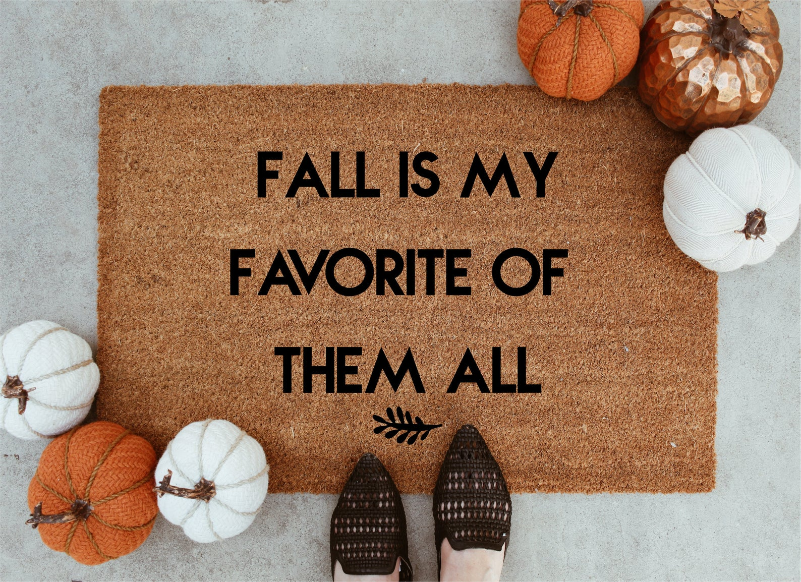 Fall Lover Doormat By Keep Life Simple Design