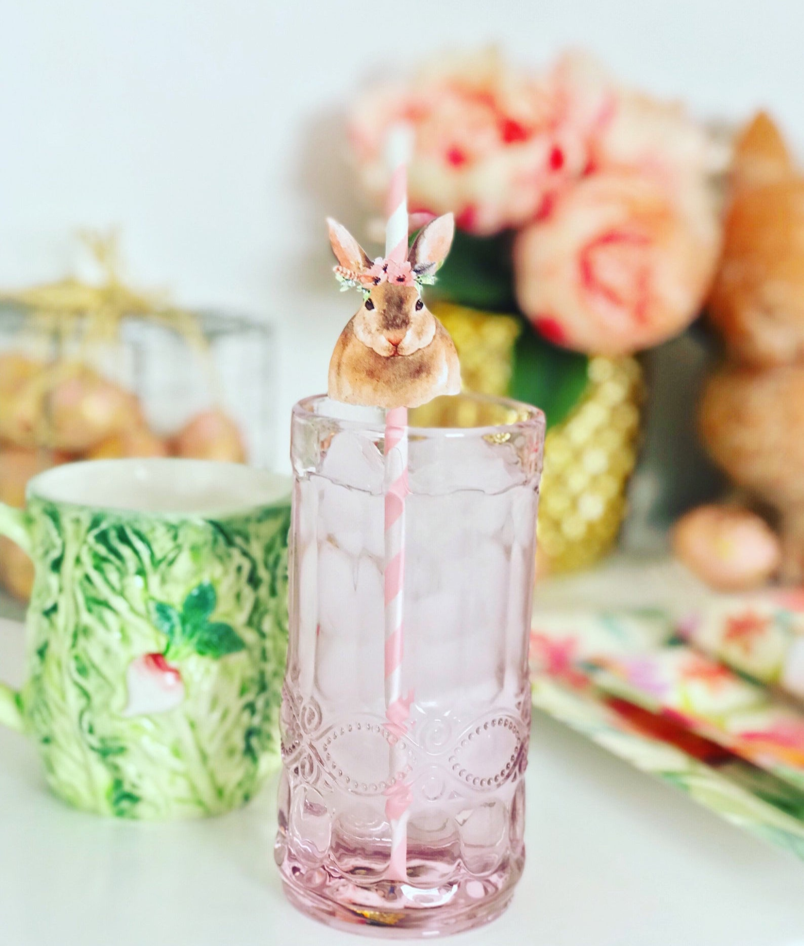 Easter Party Straws By Ericka Marie Designs