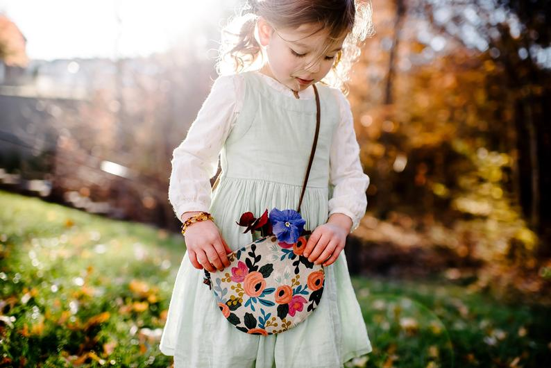 Floral Crossbody Toddler Purse By Willow and Hazel