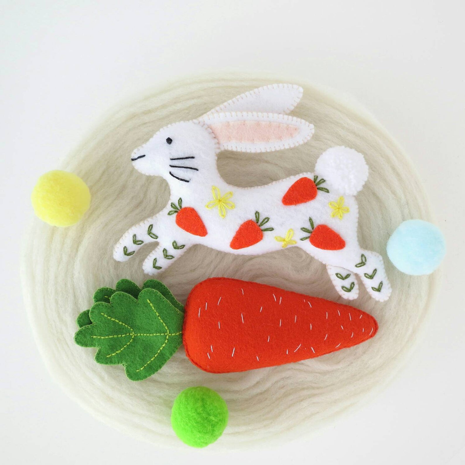 Jumping Hare Easter Decoration By Sleepy Baby Store