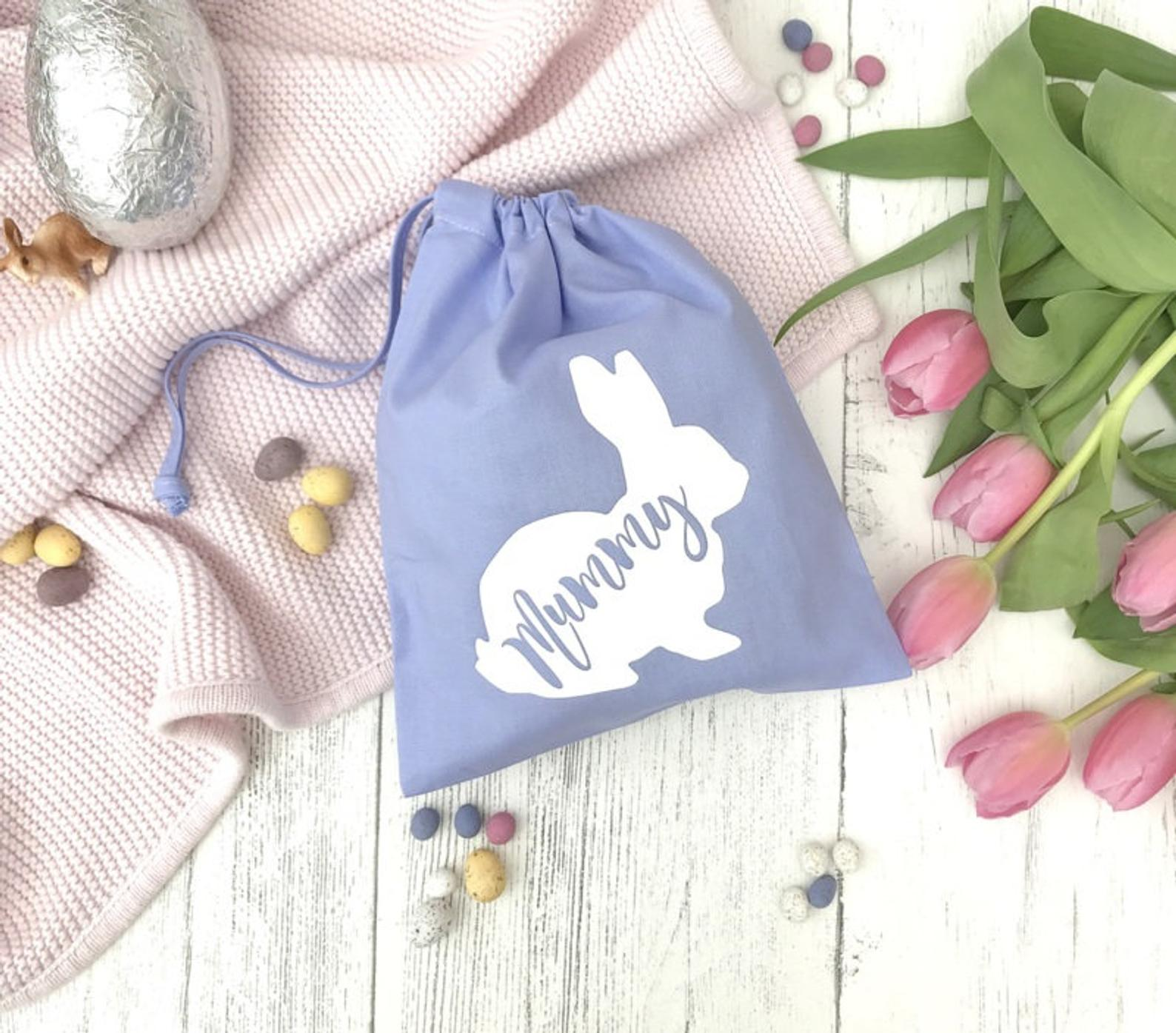 Personalized Easter Bunny Bag By The Paper Party Company