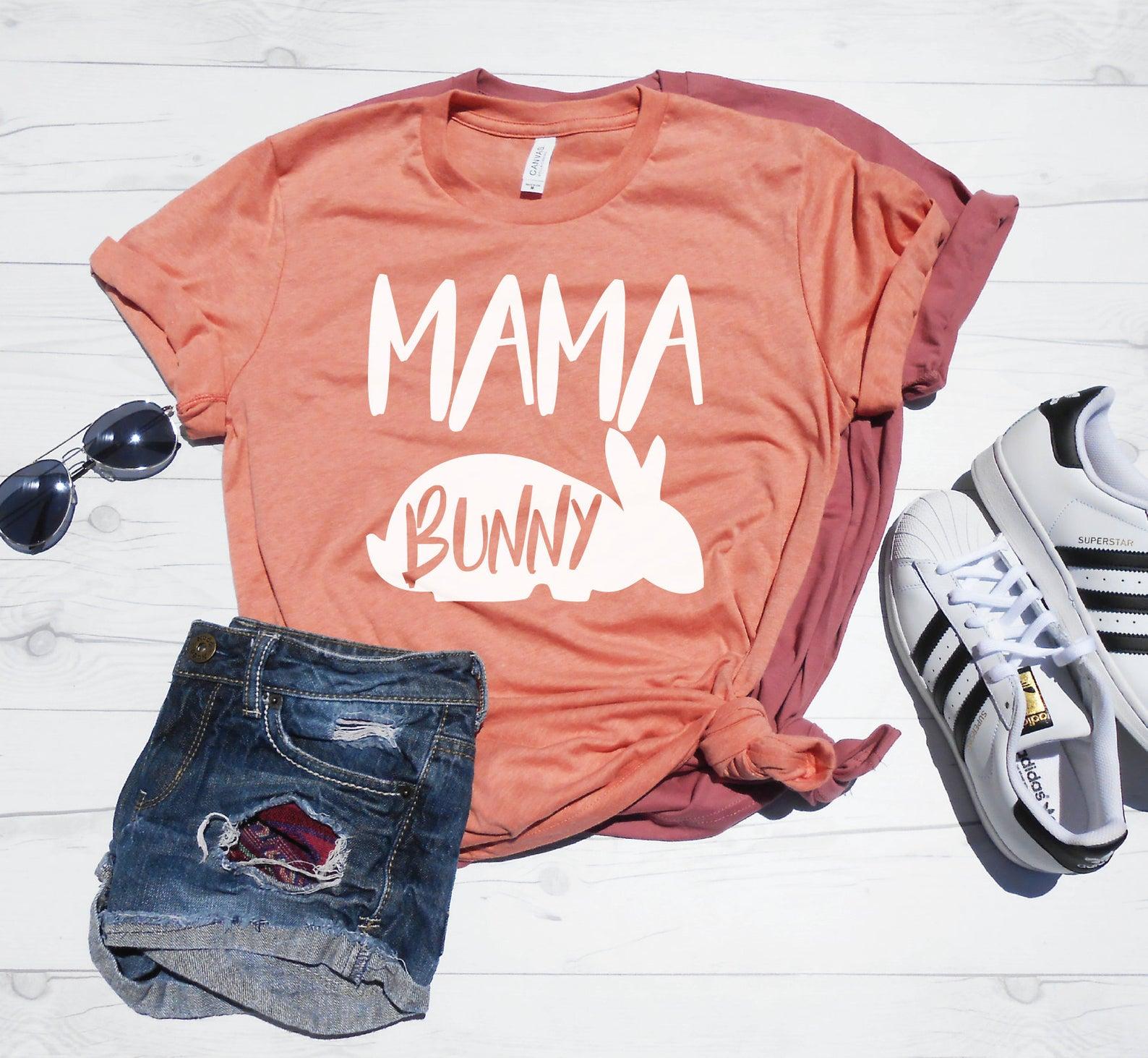 Mama Bunny Shirt By Momaste Clothing