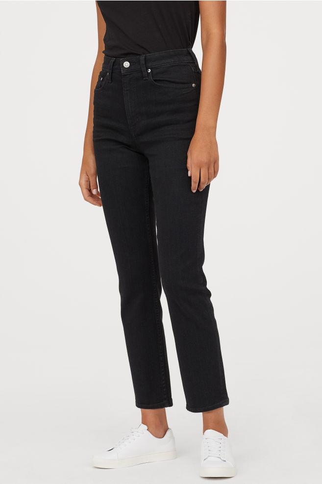 Vintage Slim High Ankle Jeans By H&M