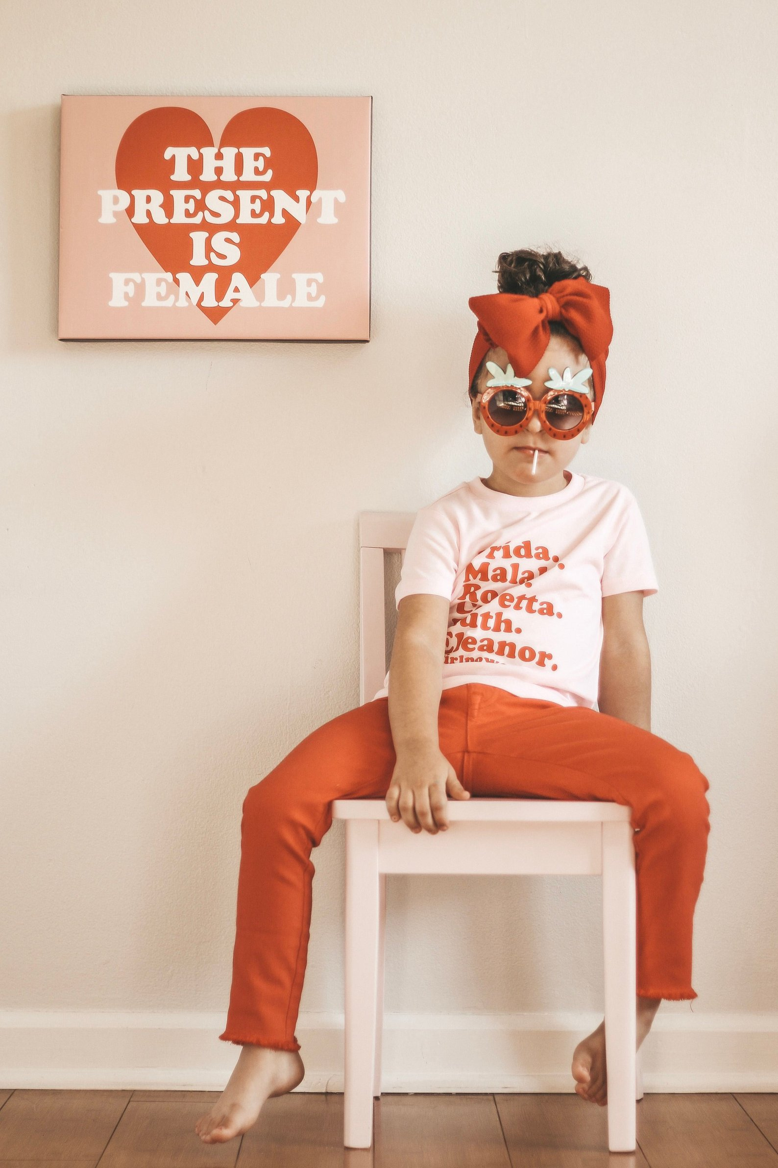 Girl Power Feminist Shirt By Kal And Co.