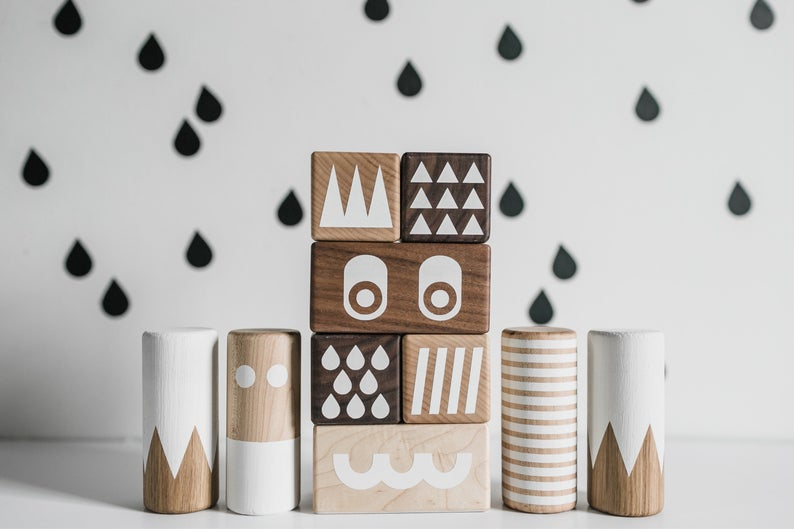 Monster Stacking Wood Blocks by OK GO PLAY