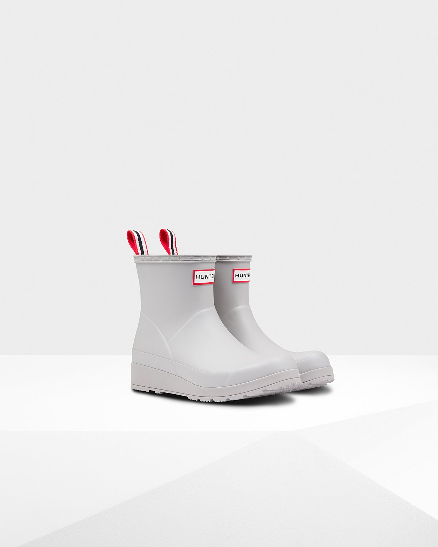 Hunter Original Play Short Rain Boots in Zinc