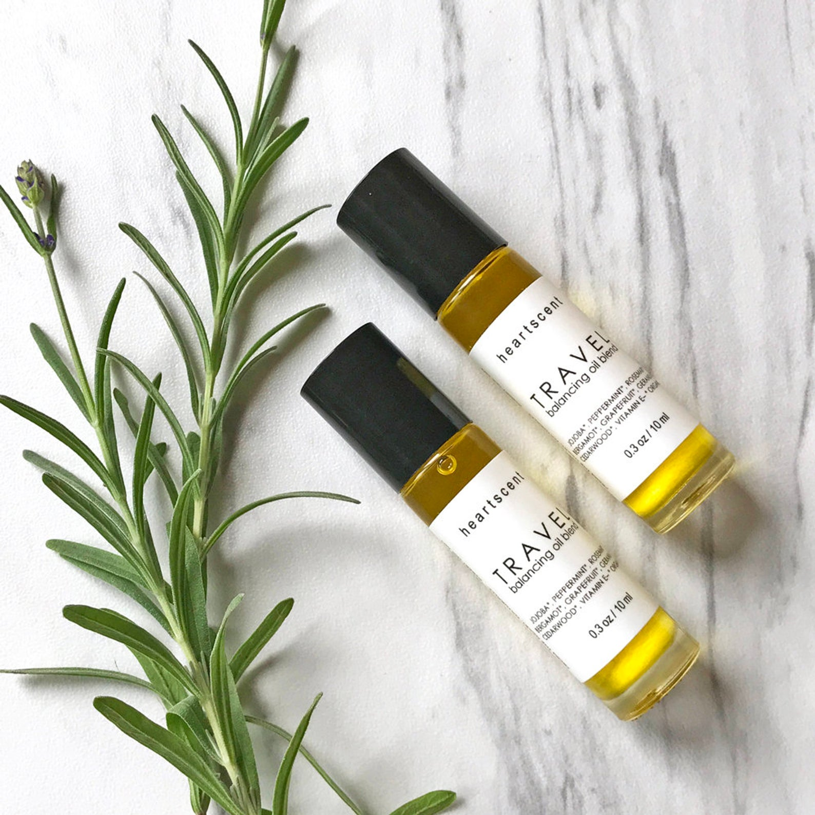 Travel Jet Lag Aromatherapy Roller By Heartscent