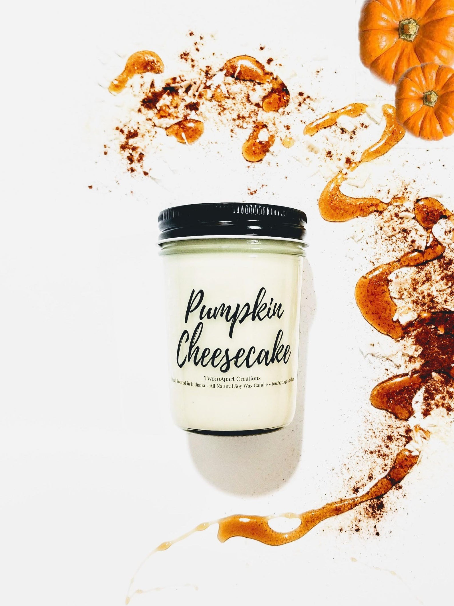 Pumpkin Cheesecake Soy Candle By 210 Apart Creations