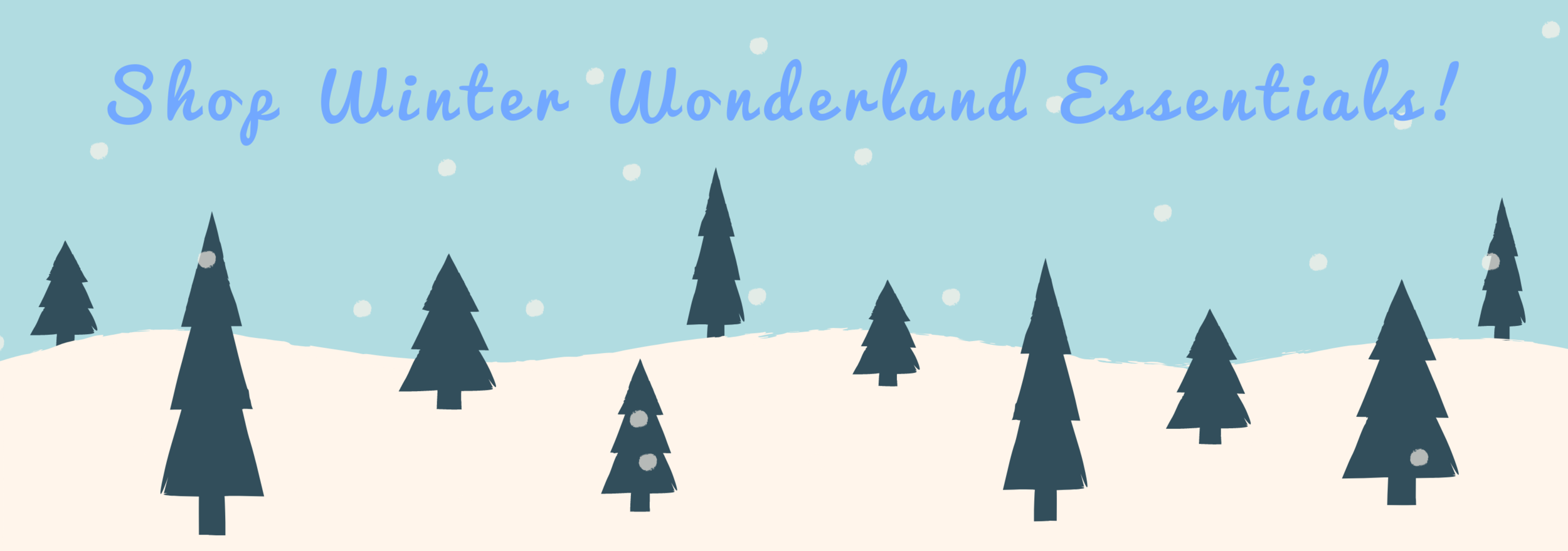 Shop the Winter Wonderland collection!