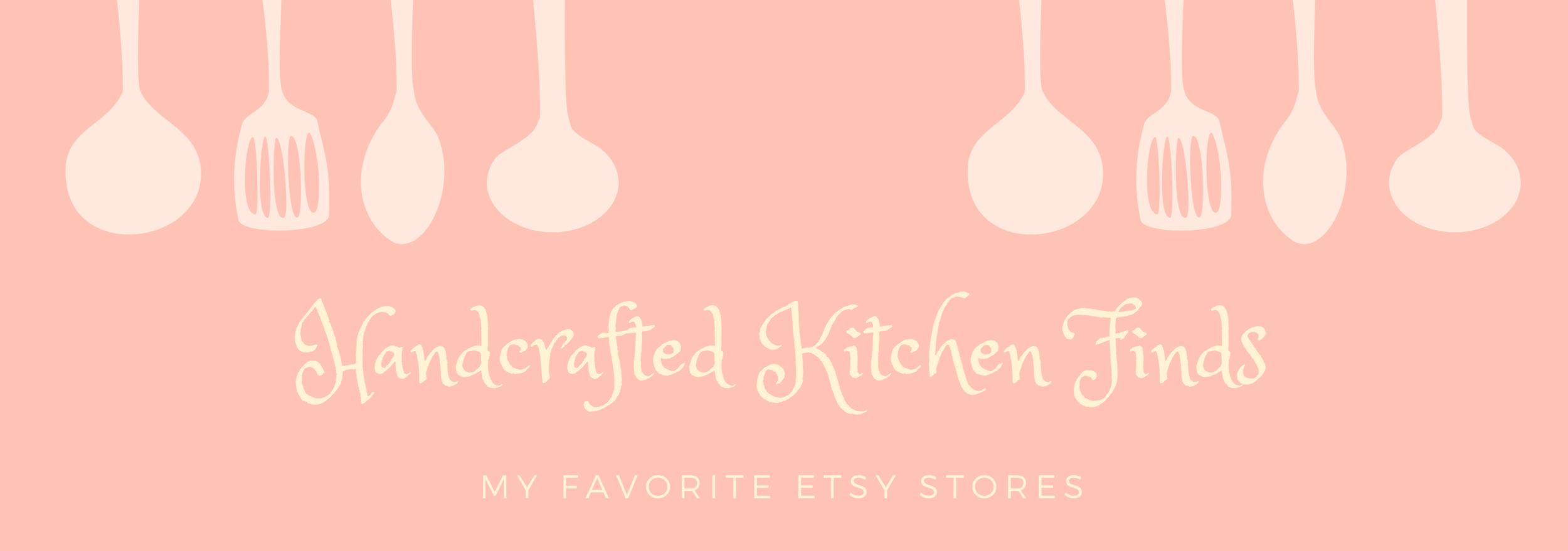 Gennifer Rose - Etsy Kitchen Finds