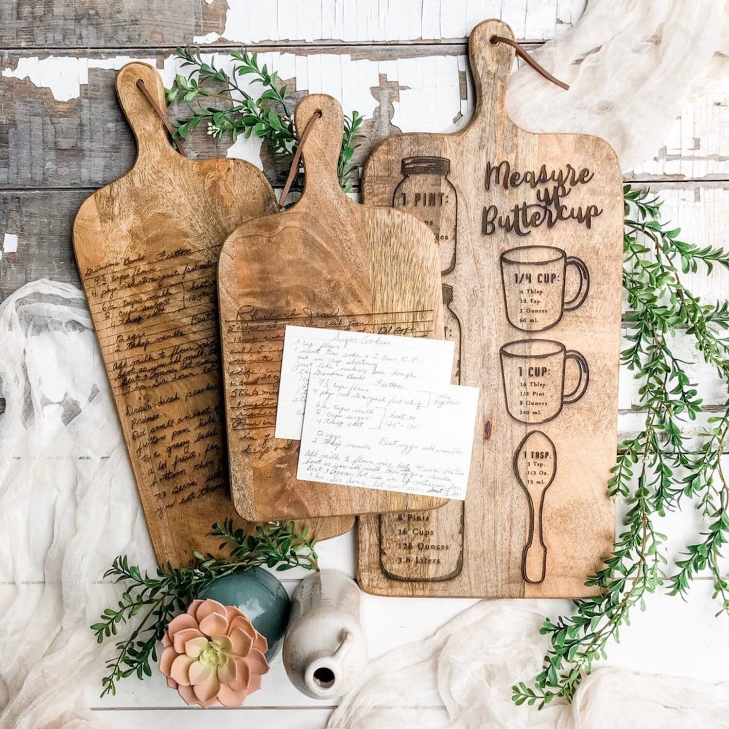 Personalized Cutting Board By Willow Bee Signs