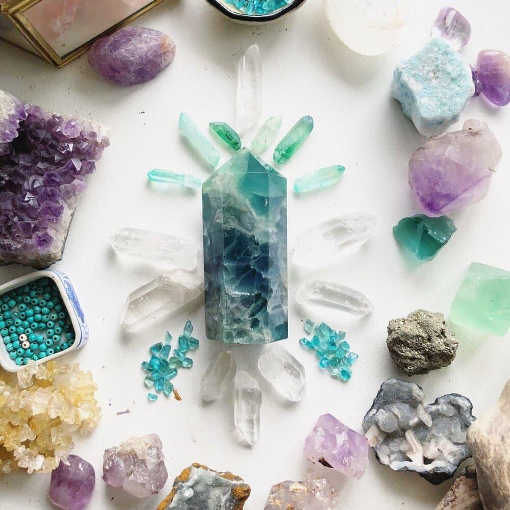 Fluorite Generator Crystal By Wisdom Remembered