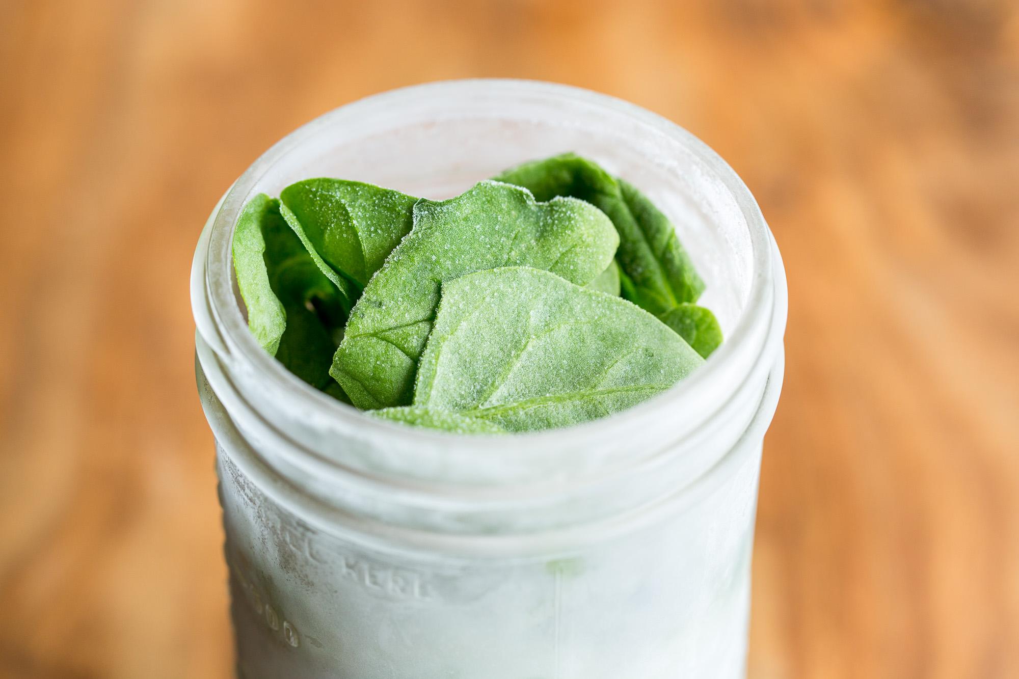 Frozen-spinach