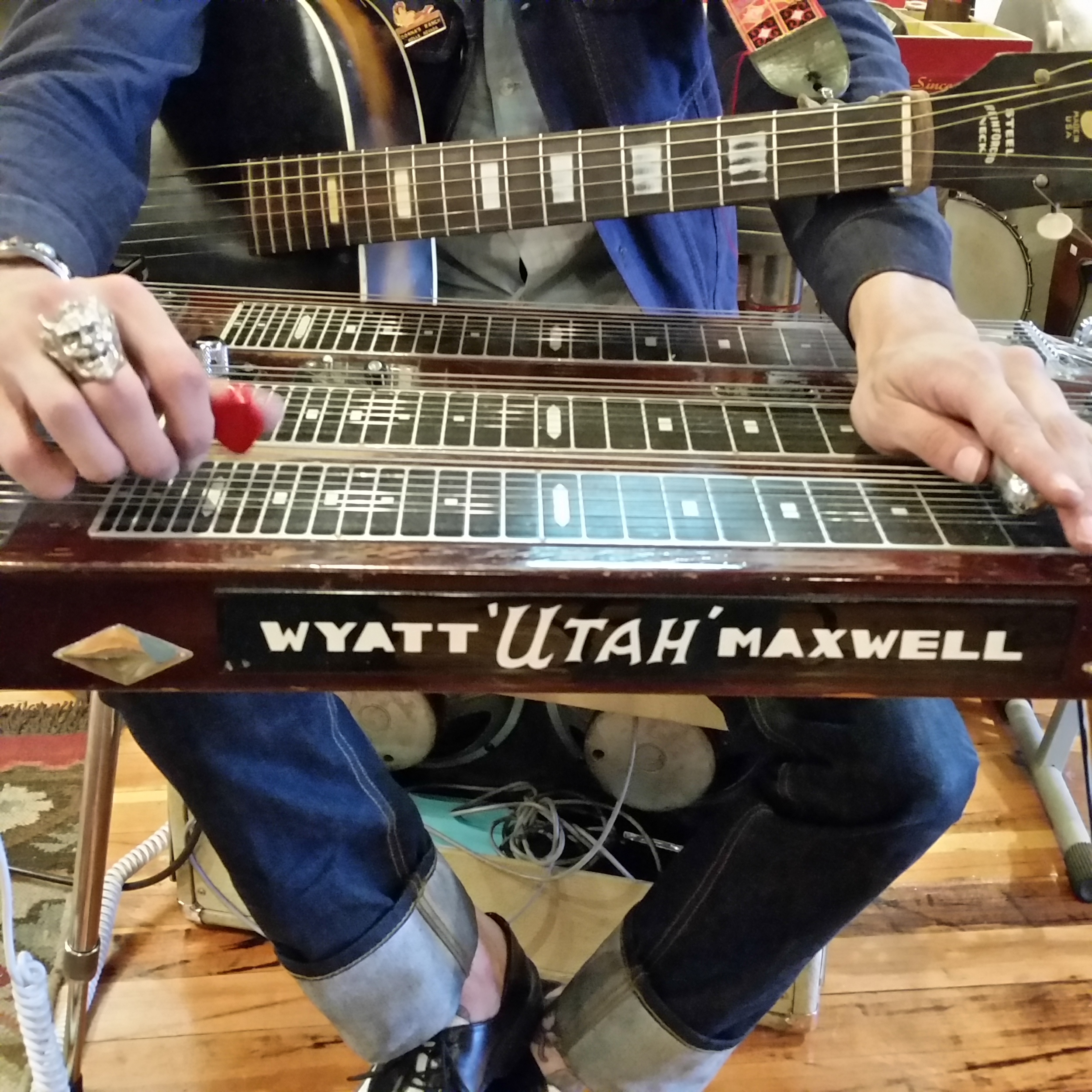 Wyatt Maxwell Steel Guitar