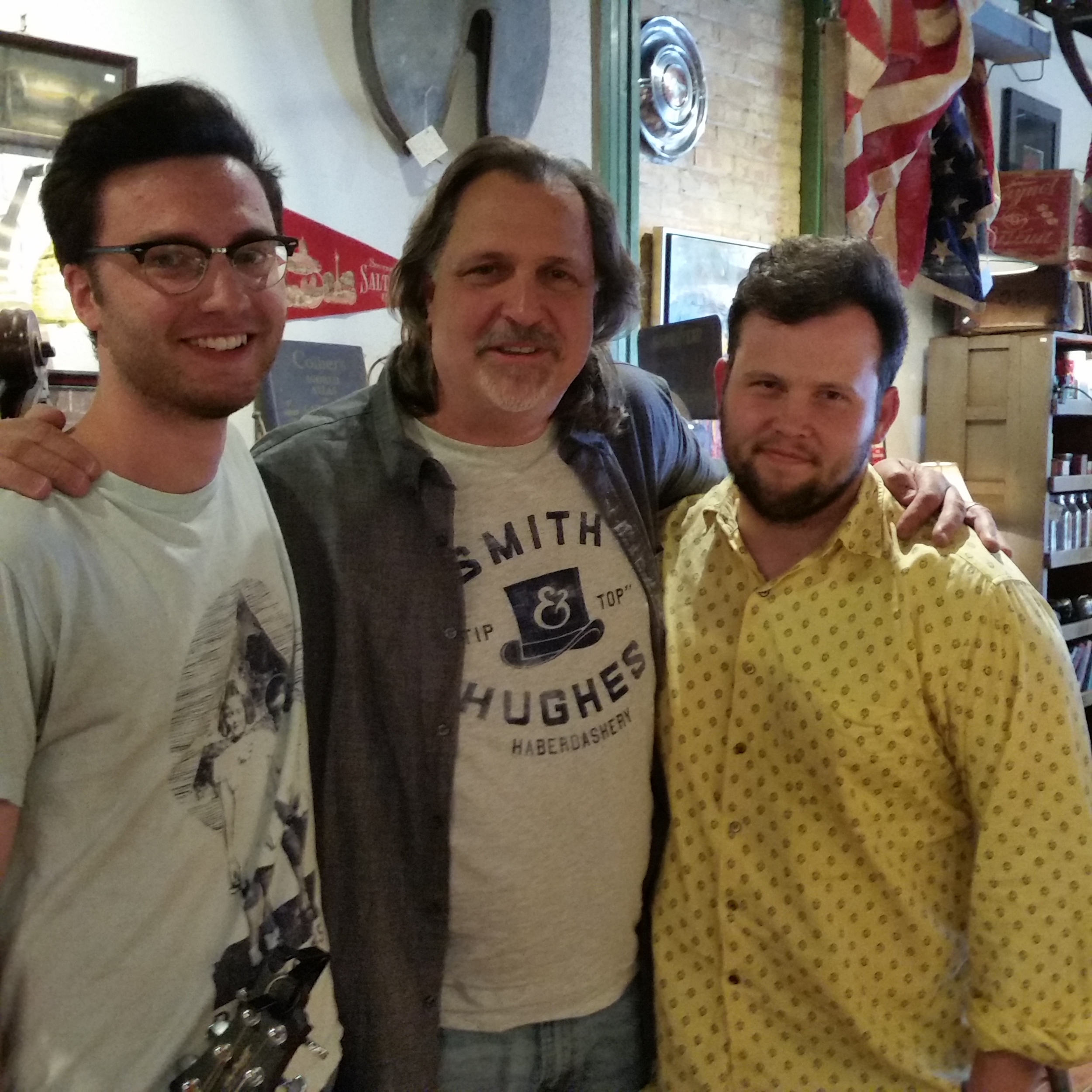 Stuart Wheeler, Russ Evans,  Jesse Quebbeman-Turley