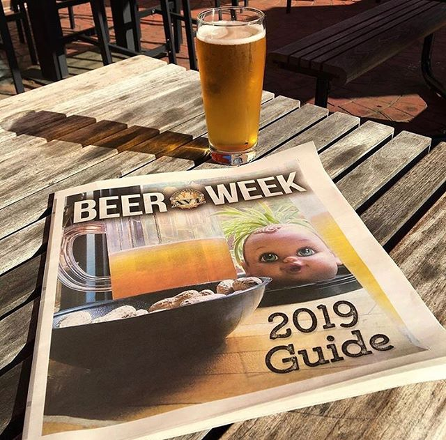 Asheville Beer Week kicks off this Friday! Looking forward to enjoying 80+ events over the next week and closing things out with a BANG💥 at our 10th Anniversary Beer City Festival celebration. Make sure to pick up a copy of this week's @mountainxpress to get the full scoop on AVL Beer Week. 📸/repost: @avlbeerweek  #beercity #beercityfest #asheville #avl #avlbeer #drinklocal #supportlocal #828isgreat