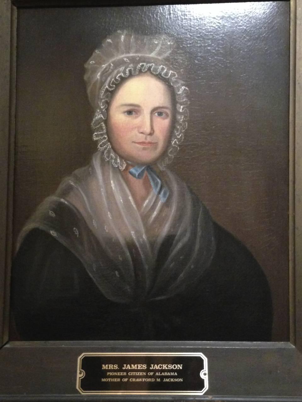 Mrs. James Jackson (Temperance Motley)