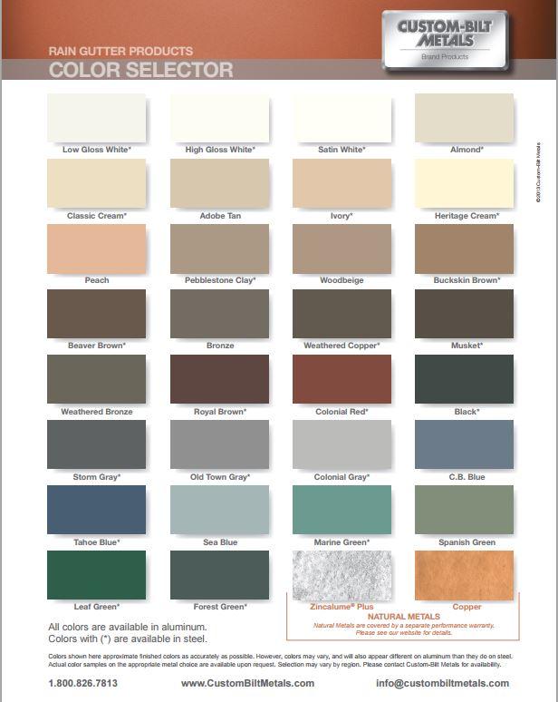 Custom-Bilt Colors