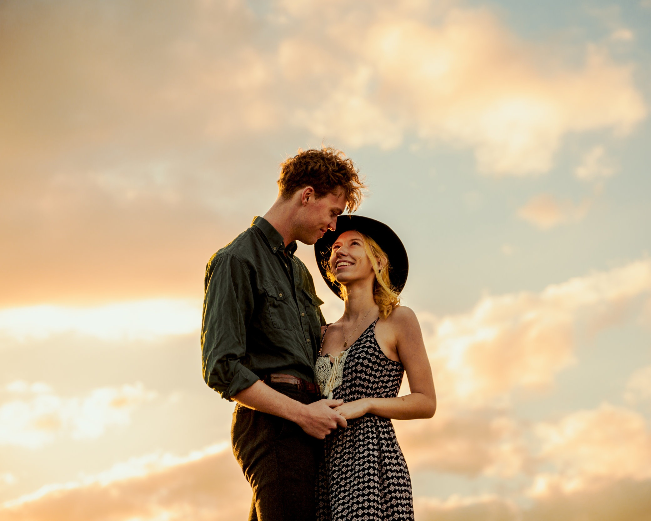 Lauren & Nate - couple session in Clermont, FL