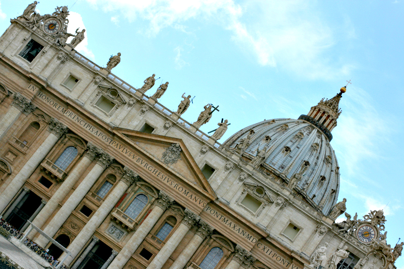 St. Peter's Basilica, in all it's pomp and glory.