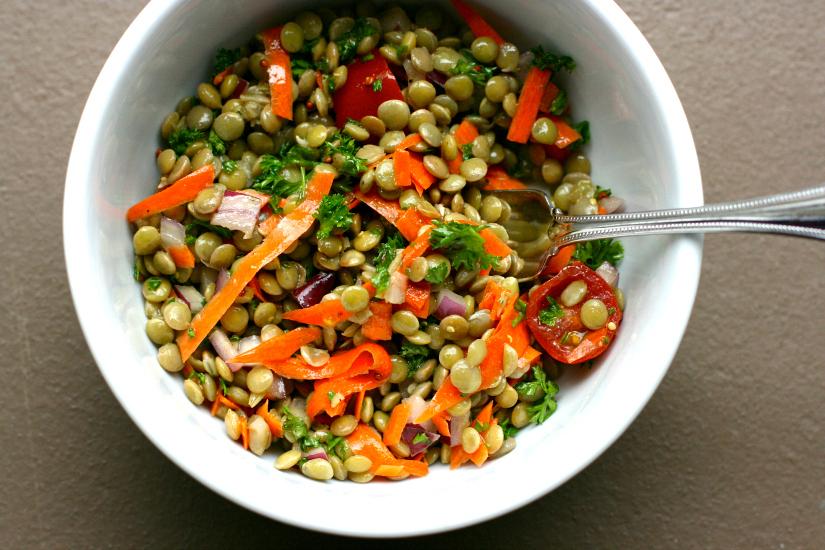 I  made lentils . Like Christ ate.